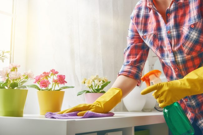 spring cleaning home safety