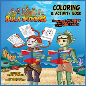 Bula Buddies Coloring & Activity Book