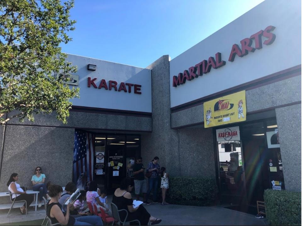 Martial Arts International Exterior