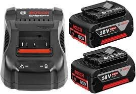 Bosch Batteries and Charger 18V 6.0Ah. For sale at Farmability South Africa