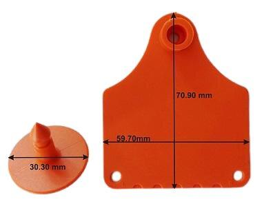Infotag Plastic Cattle Marking Tags. For sale at FarmAbility South Africa