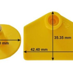 Infotag Cattle Ear Tags. For sale at FarmAbility South Africa