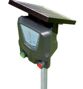 Agri AE-SB001 1km Solar Energizer with internal Lithium battery. For sale at FarmAbility South Africa