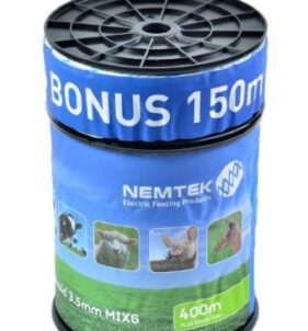 Nemtek Poly Wire Braid for Electric Fence - 550m. For sale at FarmAbility South Africa