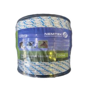 Nemtek Highly Visible Wire for Electric Fence - White. For sale at FarmAbility South Africa