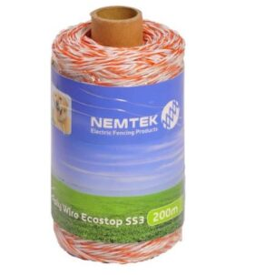 Nemtek Poly Wire with Stainless Steel Conductors - 200m. For sale at FarmAbility South Africa