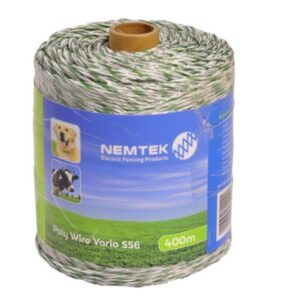 Nemtek Highly Visible Wire for Small Electric Fences. For sale at FarmAbility South Africa