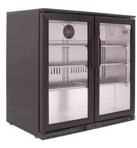 SnoMaster Black Two Door Alfresco Beverage Cooler (SD220). For sale at FarmAbility South Africa