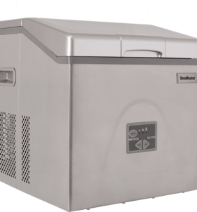 SnoMaster 20kg Portable Ice Maker – Stainless Steel (ZBC-20). For sale at FarmAbility South Africa