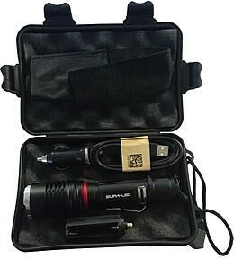 Supa-LED Rechargeable Torch with Charger and Battery. For sale at Farmability South Africa