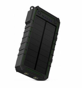 Surviva Portable Solar Power Bank with Flashlight. For sale at FarmAbility South Africa