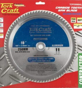 Tork Craft Circular Saw Blade 250x100T. For sale at FarmAbility South Africa