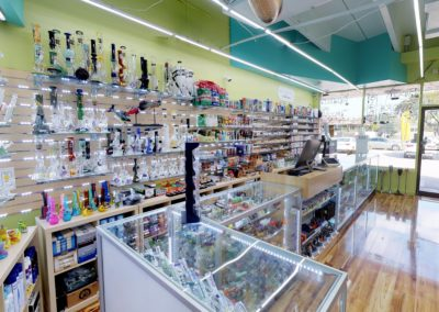 Smoke Shop Store from the inside