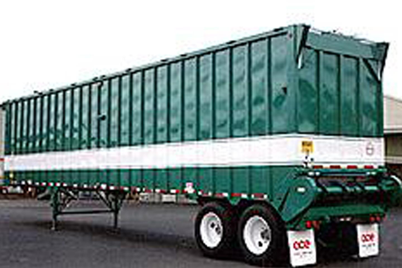 All Steel Green Waste Trailer