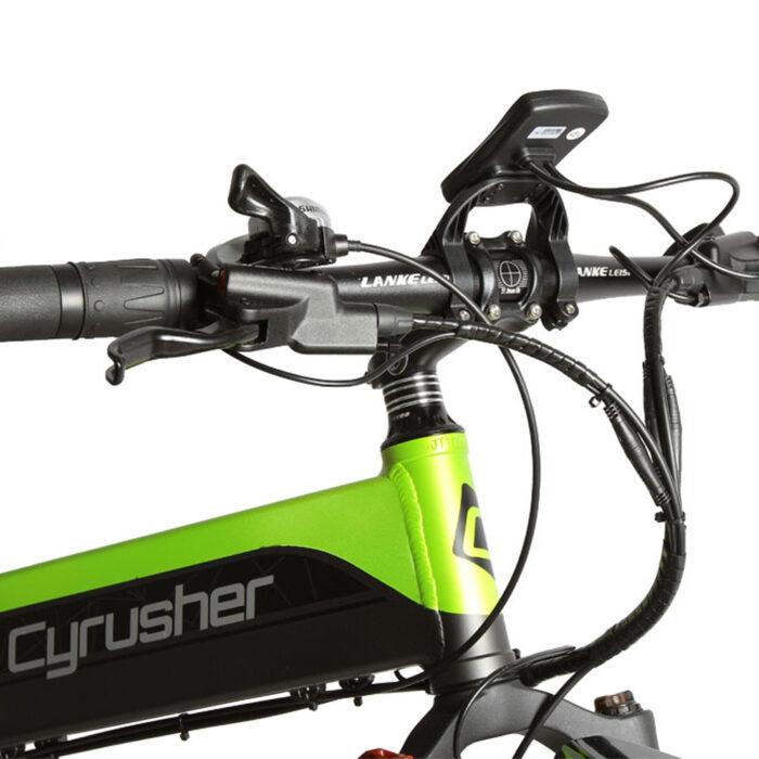xf690 green black 500w 48v 10ah 7sp fat tire elect 10098