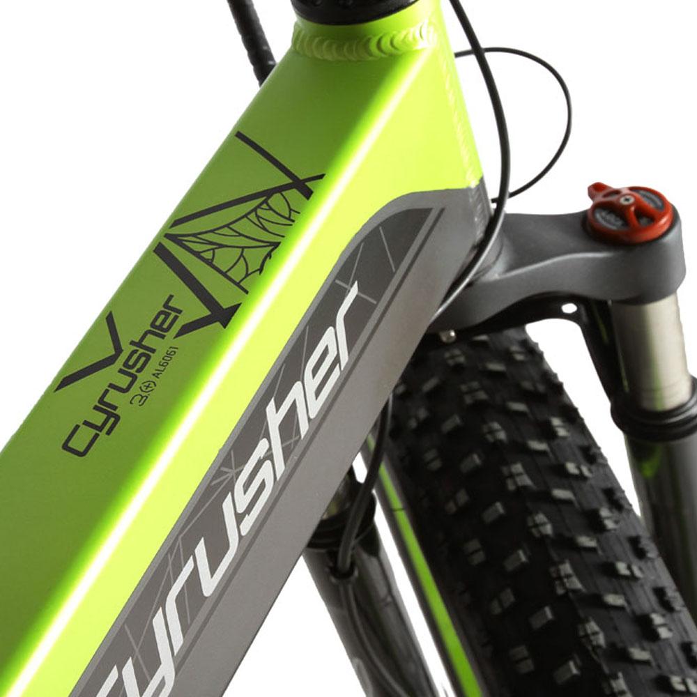 xf690 green black 500w 48v 10ah 7sp fat tire elect 10100