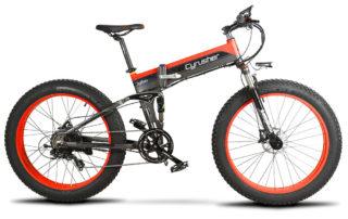 xf690 red black 500w 48v 10ah 7sp fat tire electri 10109