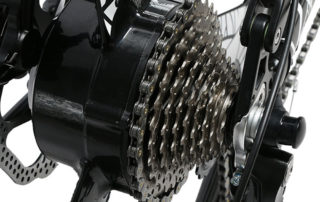xf770 red folding electric mountain bike full susp 10164