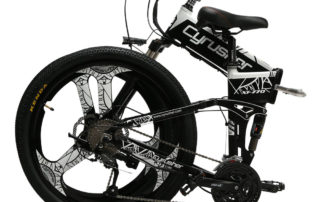 xf770 white folding electric mountain bike full su 10156