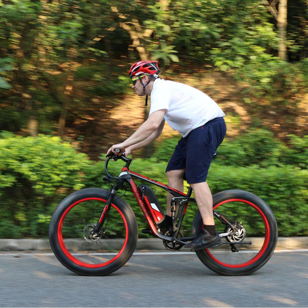 xf800 blue 1000w 48v electric fat bike full suspen 10131