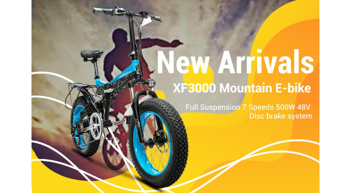 XF3000 eBike - New Arrival