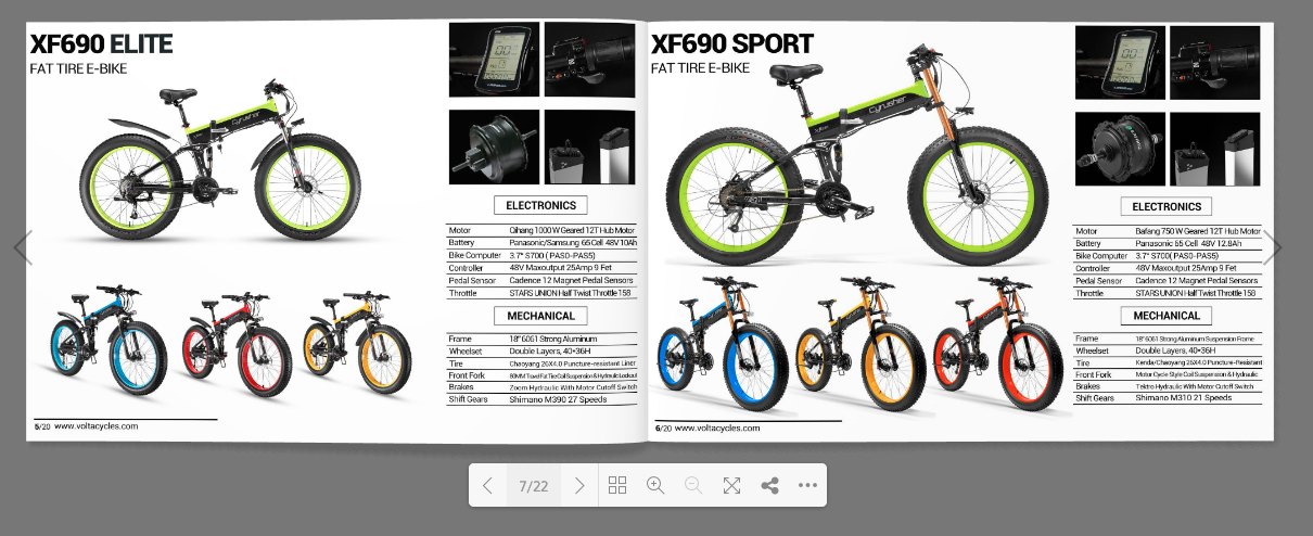 Volta Cycles eBikes Catalog 2020