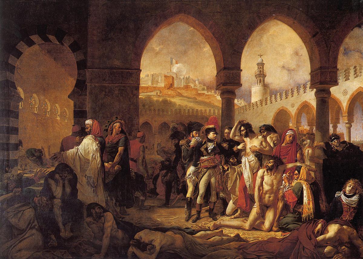 Baron Antoine-Jean Gros, Napoleon Bonaparte Visiting the Pest House in Jaffa
