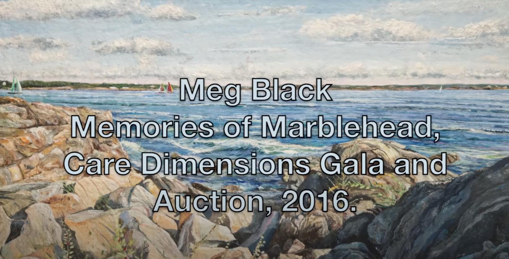 seascape painting, pulp painting, paper artist, Meg Black Studios