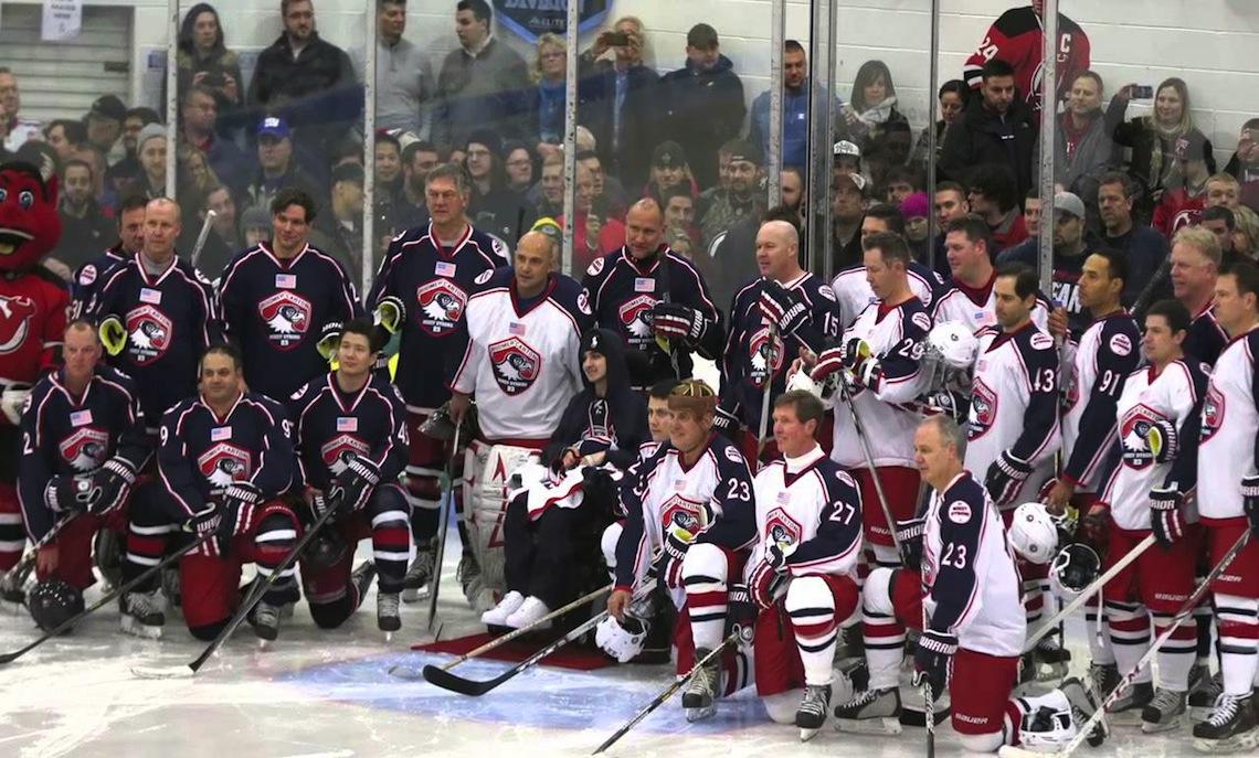 Boomer and Carton Charity Hockey Game