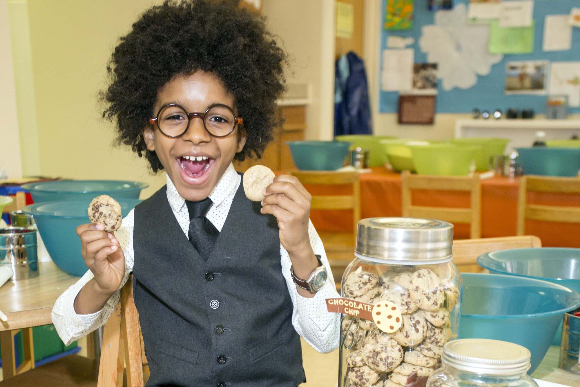 Mr. Cory, 11-Year-Old Cookie Tycoon