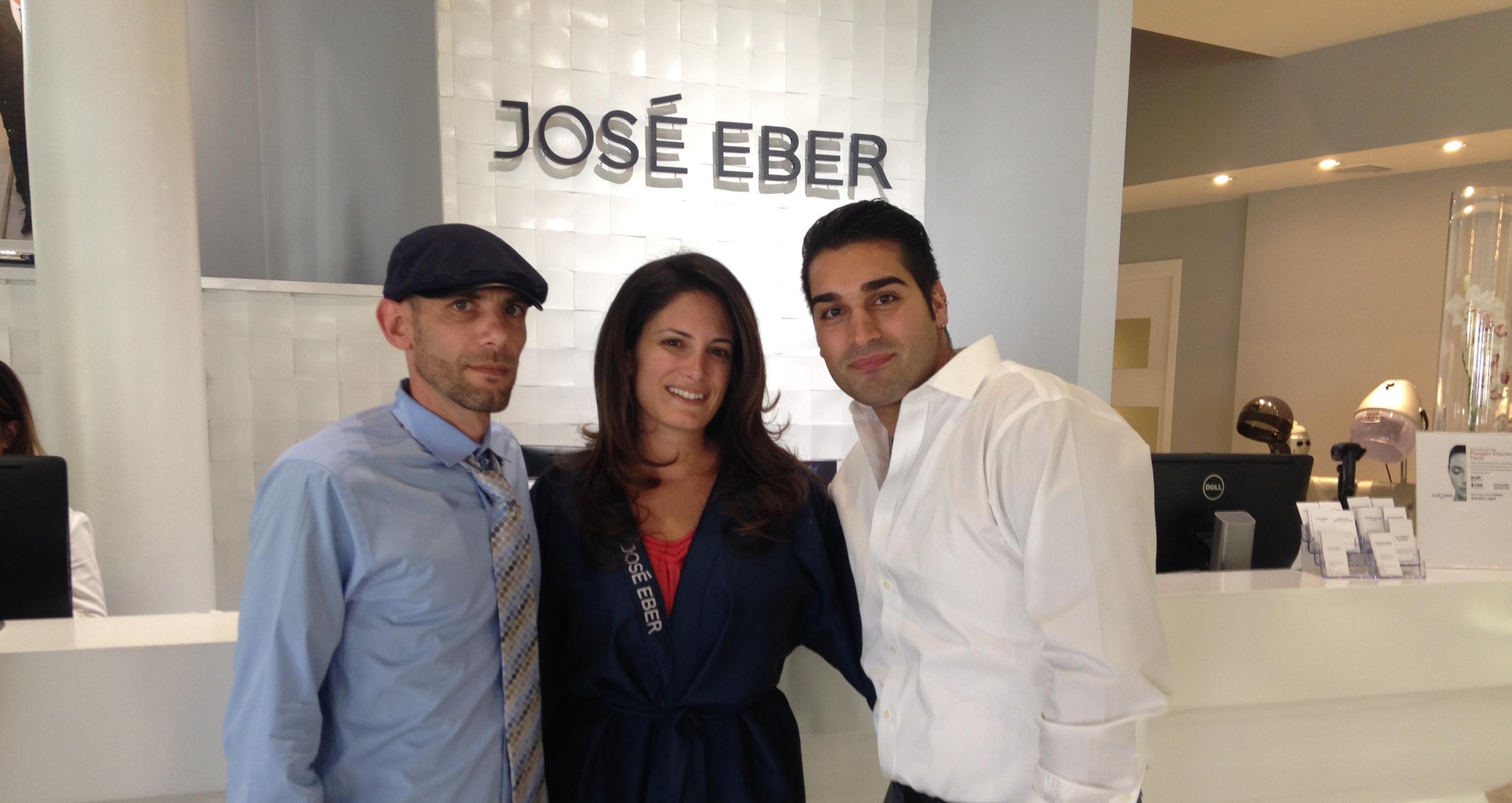 Mane Makeover with José Eber Salon NJ