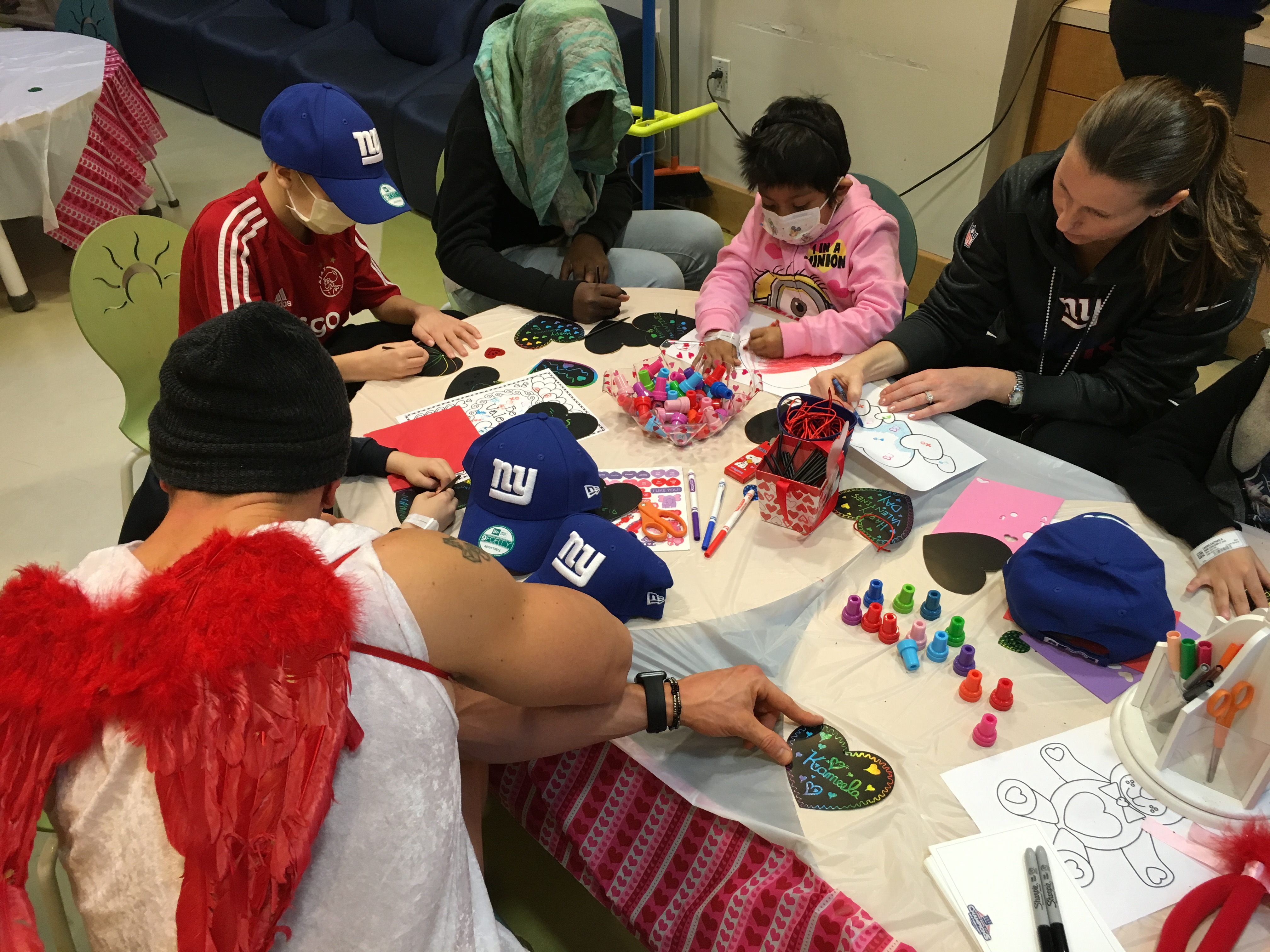 Valentine's Day with the Tom Coughlin Jay Fund