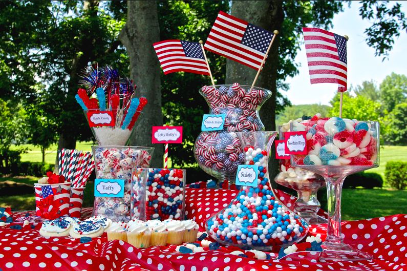Patriotic Sweets For The Fourth of July