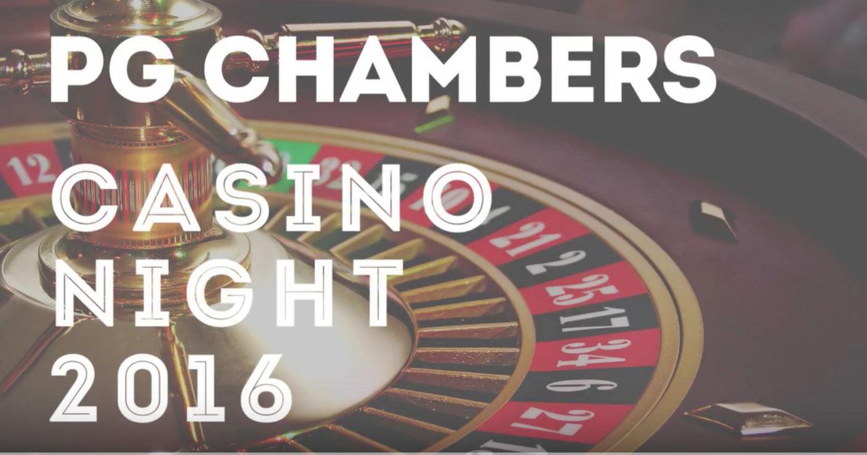 PG Chambers Casino Night 2016