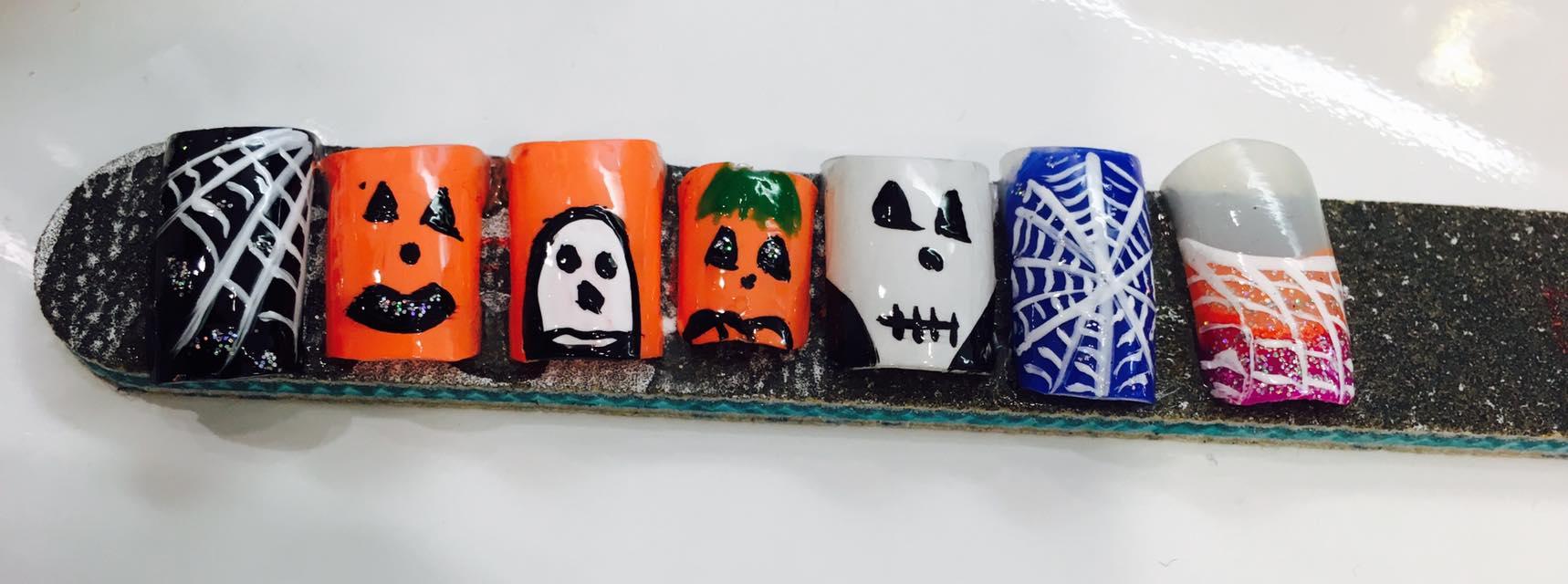 Halloween Nail Art at José Eber Salon