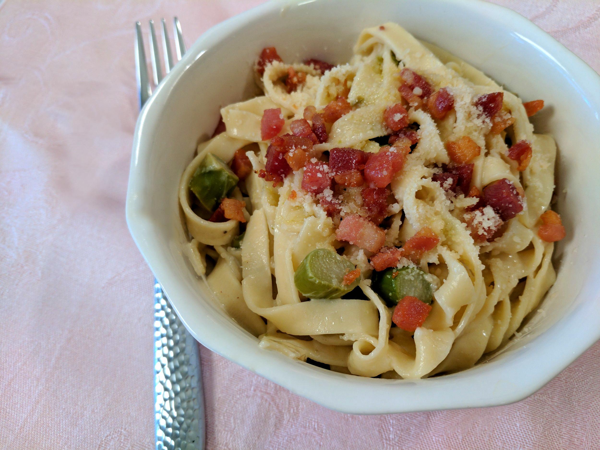 Cara's Cucina: Pasta With Asparagus