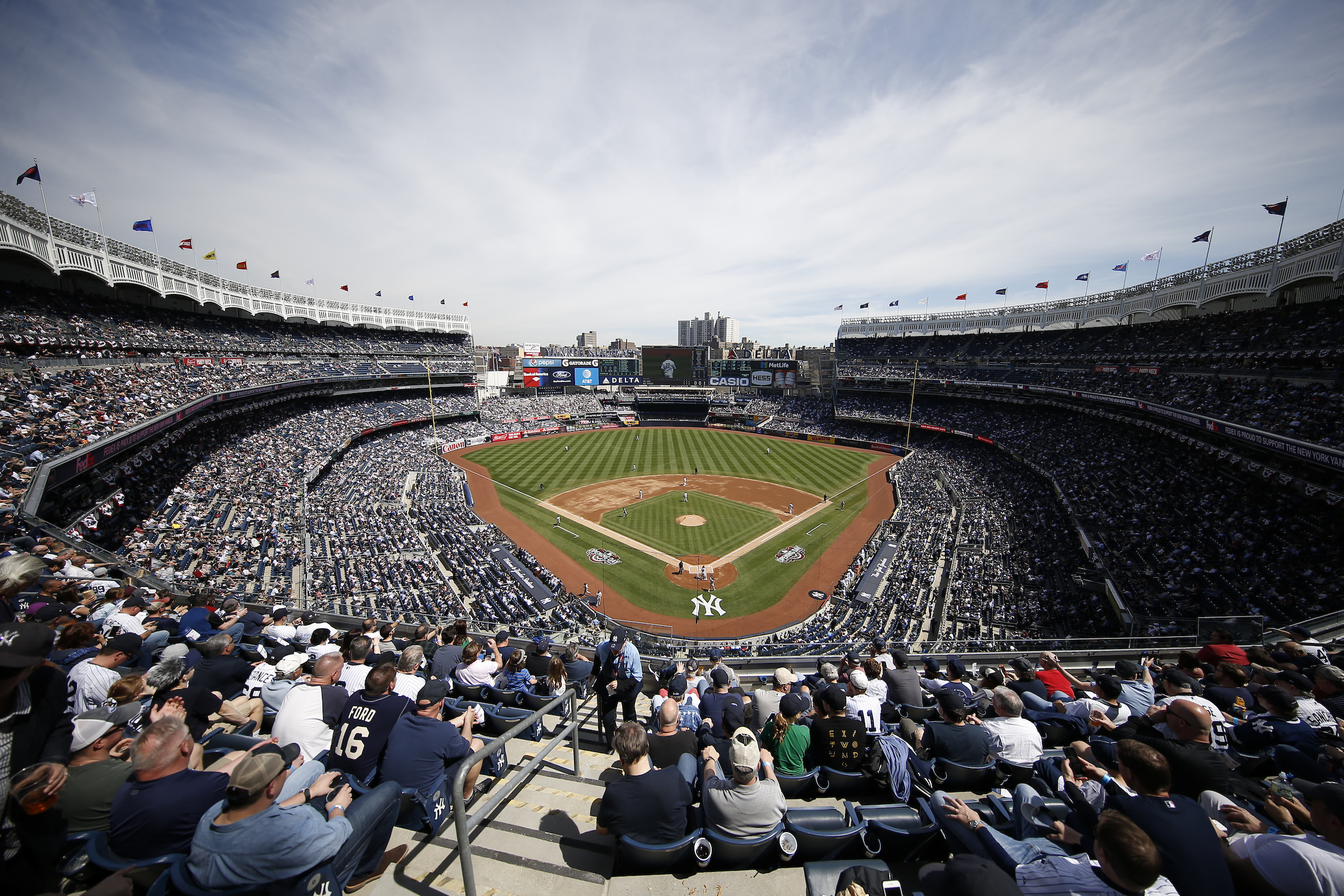 New York Yankees Home Opener to Unveil Stadium's New Dining Menu