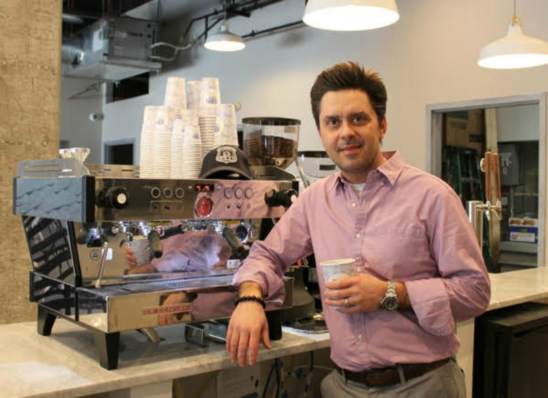 Local Police Officer Opens Hudson Coffee Company in Hoboken