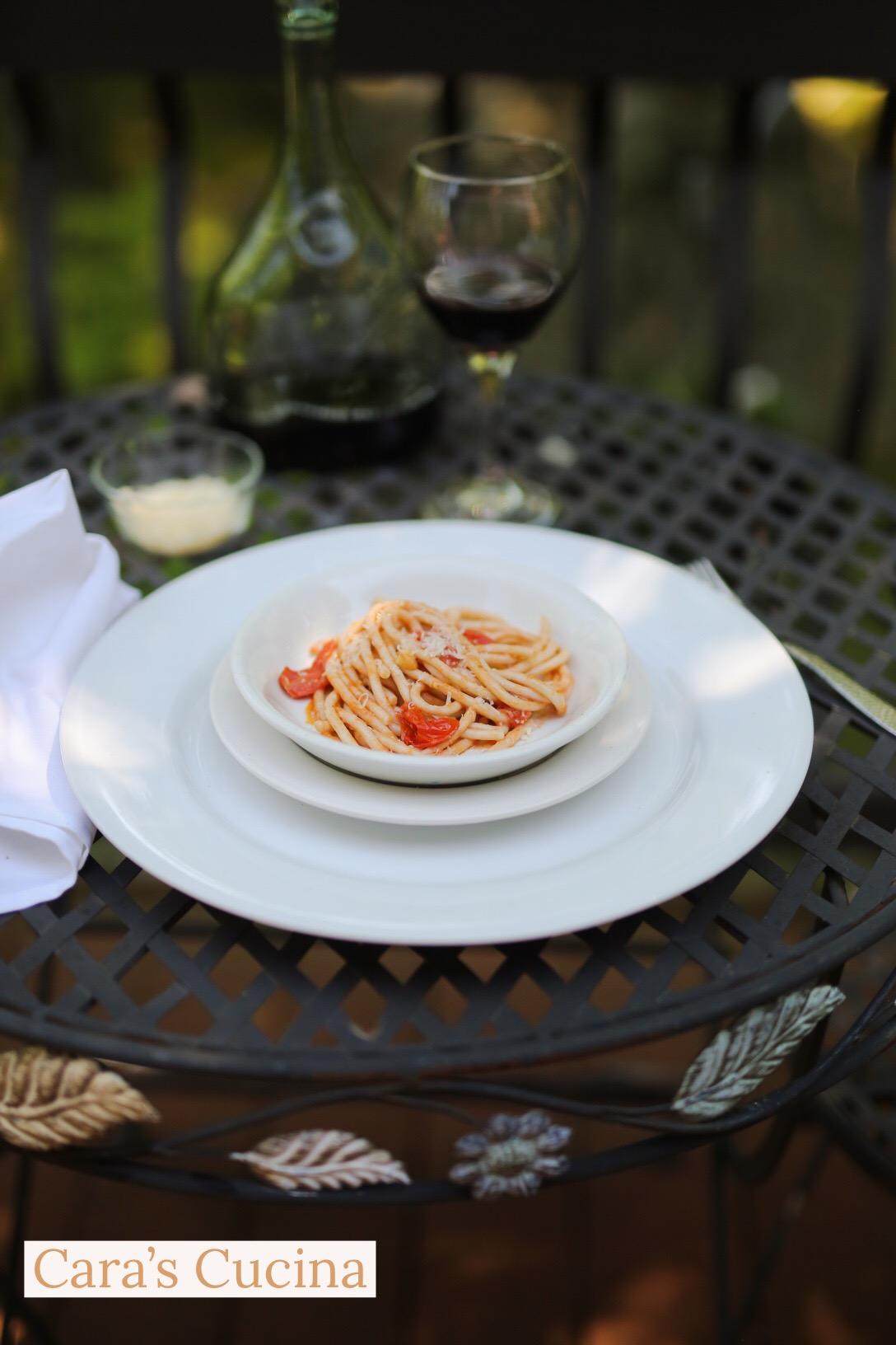 Cara's Cucina: Cherry Tomato Sauce