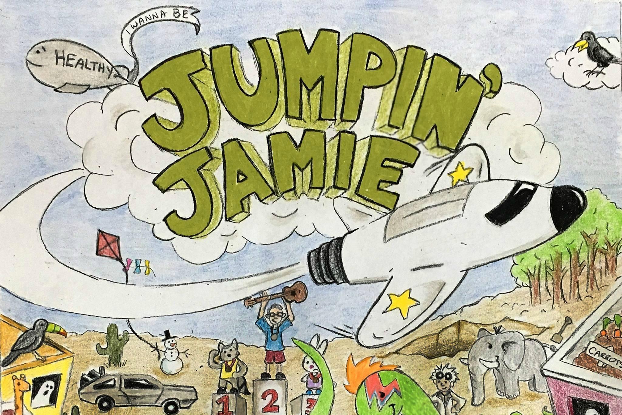 Jumpin' Jamie Makes Pop Punk Debut