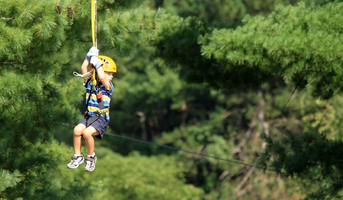 11 Zip Lines and Obstacle Courses in the Tri-State Area