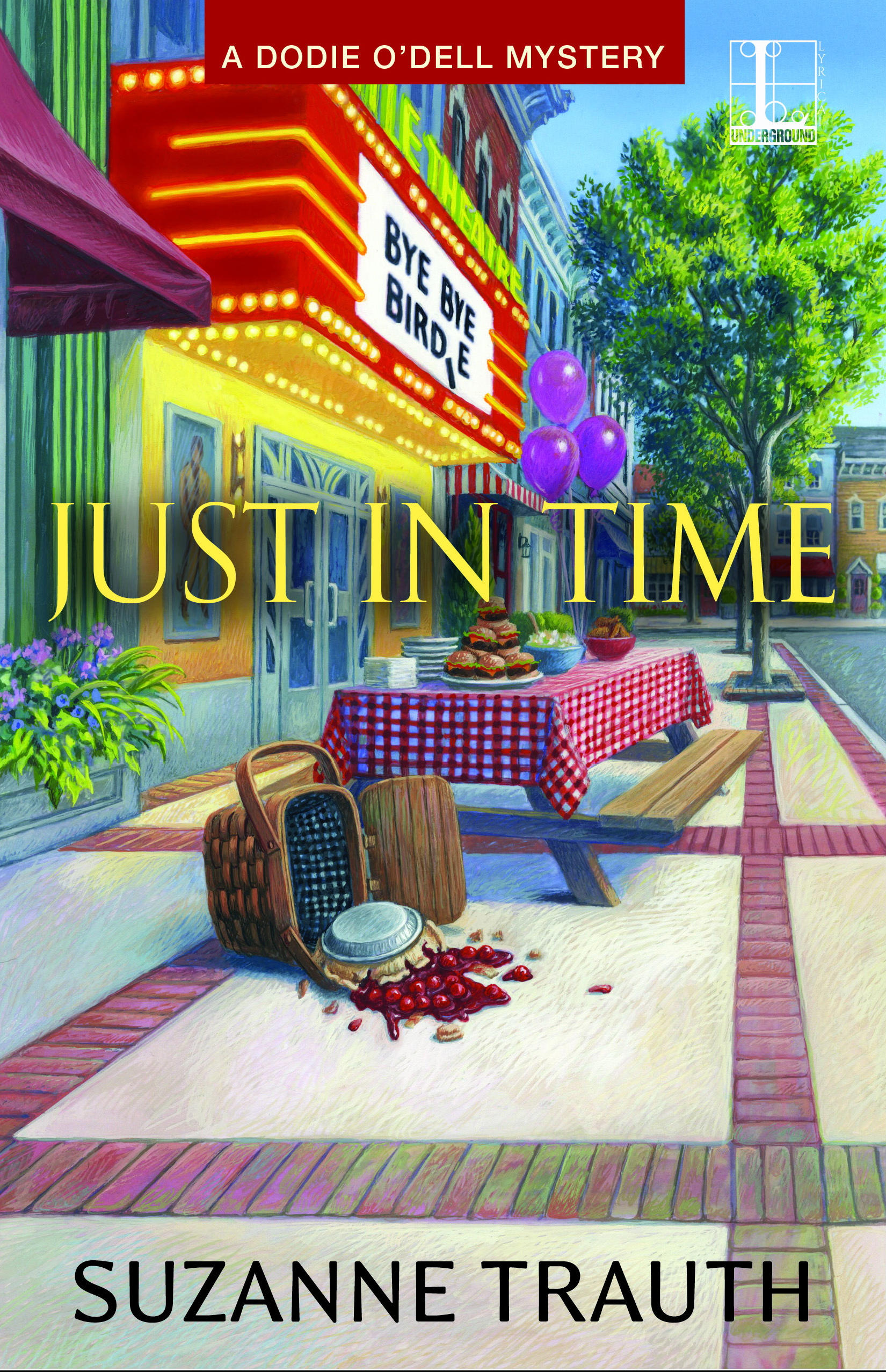 #FridayReads Suzanne Trauth – Just in Time