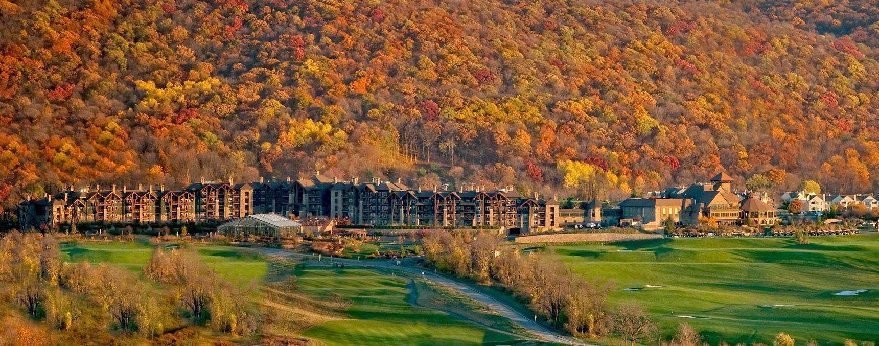 Leaf Peeping Season at Crystal Springs Resort