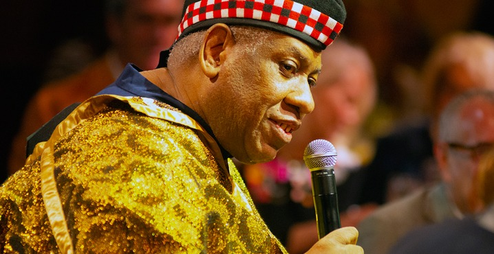 André Leon Talley at NJPAC's Annual Spring Luncheon
