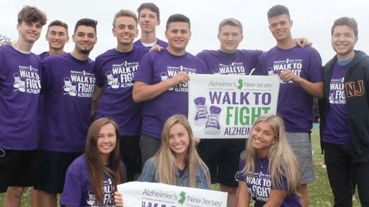 Freehold Township HS pairs with Alzheimer's NJ for 2019 Walk