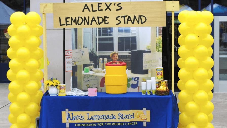 Alex's Lemonade Stand in Cedar Grove