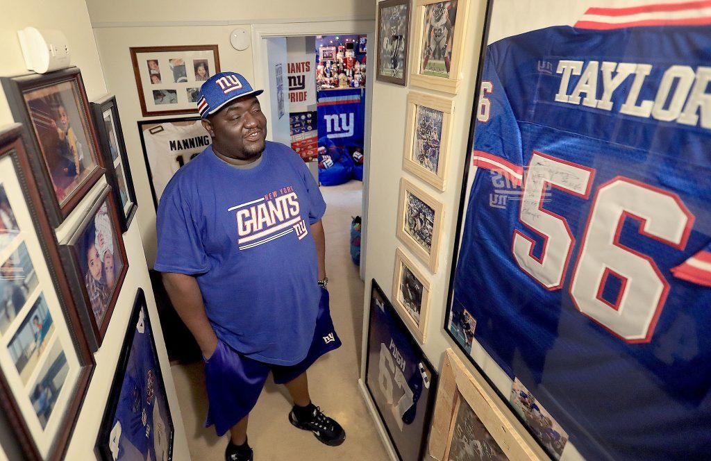 Giants Fan, Gregory Hampton, Wins 100 Years of Season Tickets