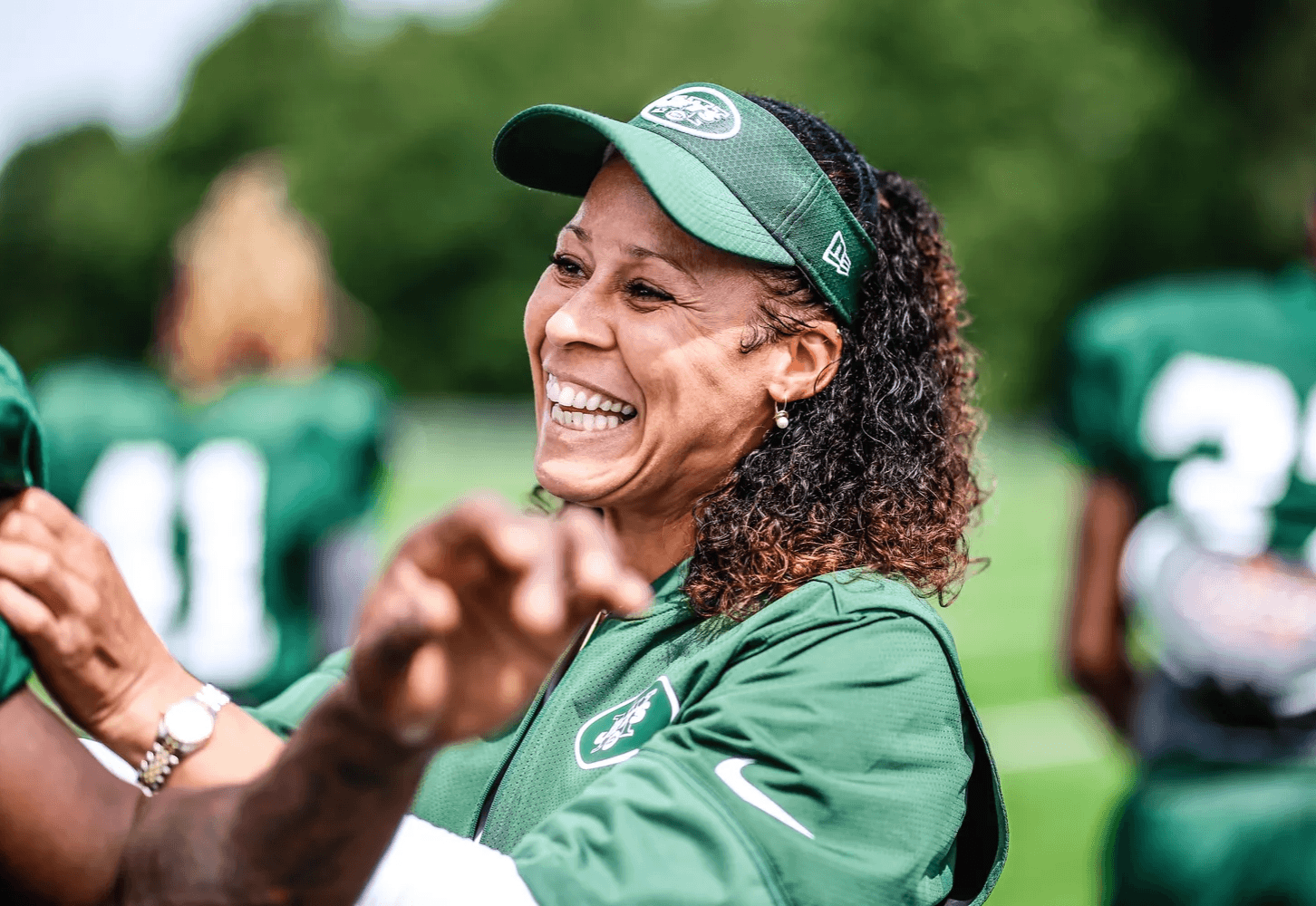 1st African American Female NFL Coach Collette V Smith