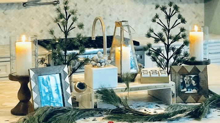 DiMattina Design Decorates the #HipNJ Studio for New Year's Eve