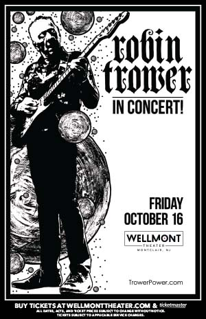 Robin Trower at the Wellmont Theater @ The Wellmont Theater